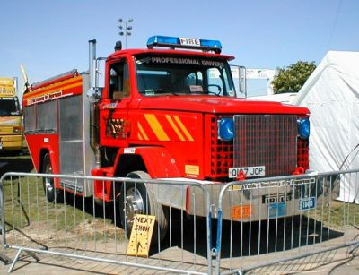 One Ton Truck >> Backdraft Fire Engine - Arena Displays